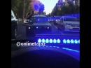 Оштрафованы участники кортежа, устроившие дискотеку на машинах в центре Тараза