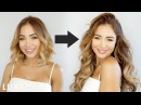 How To Clip In and Blend Hair Extensions With Short Hair Luxy Hair