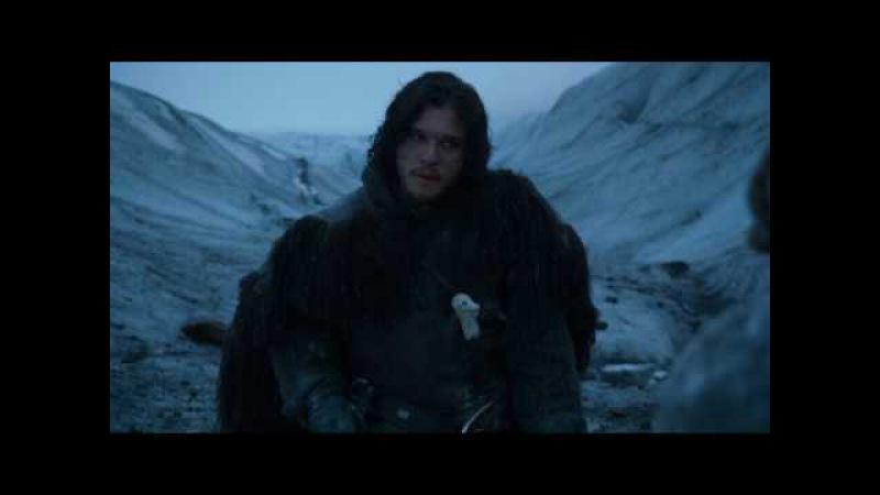 Джон Сноу и Игритт разговор Игра Престолов (Game of Trones)