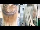 Окрашивание волос в блонд из желтого в ледяной холодный How to get Icy Silver Blonde Hair Color