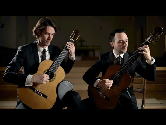 Marcello/Bach - Concerto in D minor performed by the Henderson-Kolk Duo