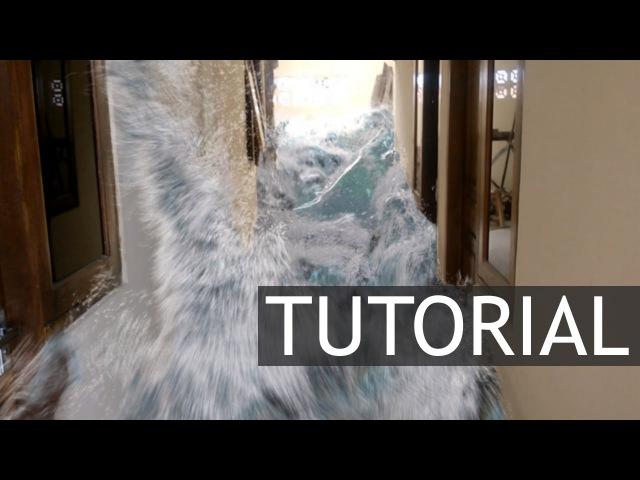 Corridor flood tutorial [maya bifrost] (2/4)