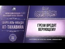 Комментарий к «Акыда ат-Тахавийя». Урок 55. Грехи вредят верующему Azan.kz