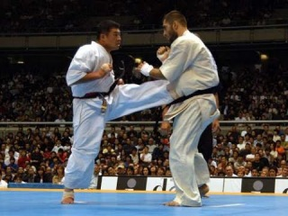 Лучшие бои Мастера Каратэ Кекусин Хитоши Кияма | Best fights Master Karate Kyokushin Hitoshi Kiyama
