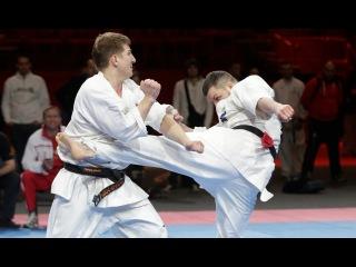 5-й Чемпионат Мира - 30 лучших боев   30 best fights 5th Open Weight World Karate tournament 3