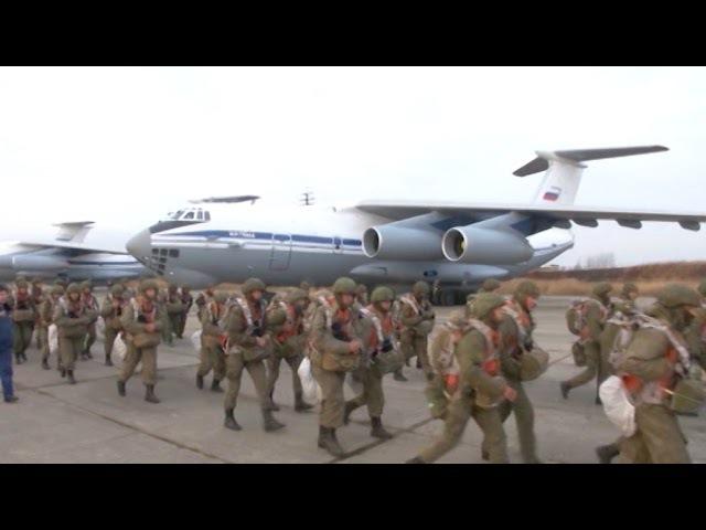 Бригадные тактические учения Уссурийского соединения ВДВ в Приморье