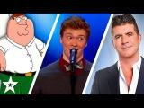 Daniel Ferguson Impressionist takes on Simon Cowell on America's Got Talent Got Talent Global