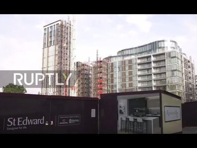 Великобритания: Оставшиеся в живых люди Гренфелла будут переброшены в рамках роскошного развития.
