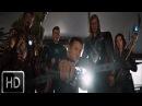 Железный человек жертвует собой отправляя ядерную ракету в портал Мстители 2012