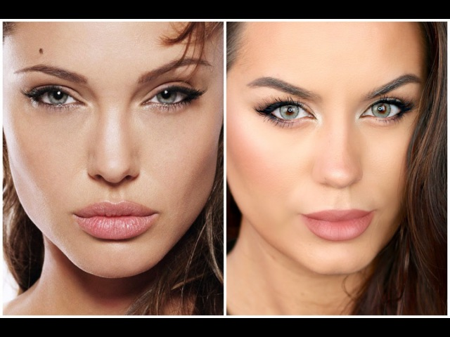ANGELINA JOLIE Inspired Neutral Makeup Tutorial