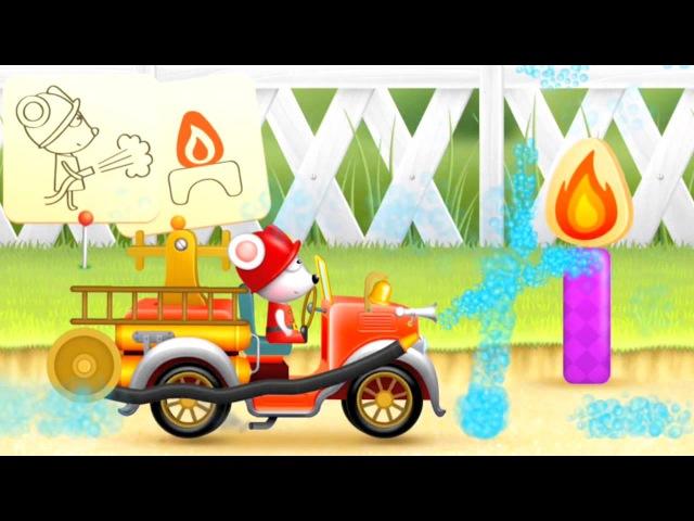 Ma Petite Voiture de Pompier Rétro🚒 dessinanimé éducatif en français pour les enfants