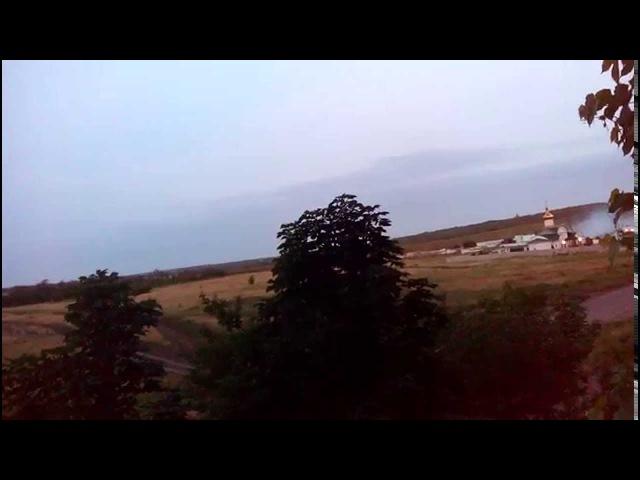 Луганск, кв.Мирный. Атака на погран.заставу. 4-10 утра.