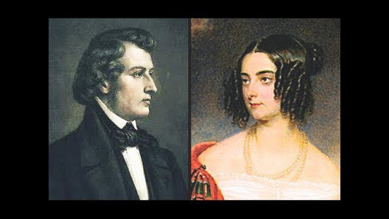 Жорж Санд и Фридерик Шопен / George Sand Frederic Chopin. Гении и злодеи