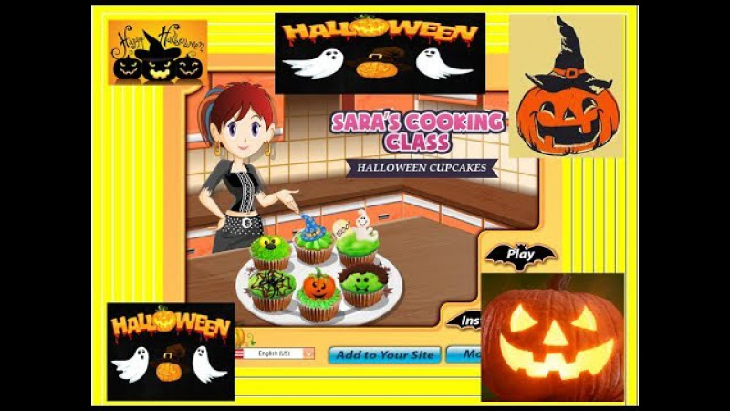 Halloween Cupcakes: Sara's Cooking Class Top Babies Games