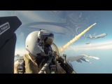 F-16 Fighting Falcon - Air Combat Dogfight Training - worth seeing