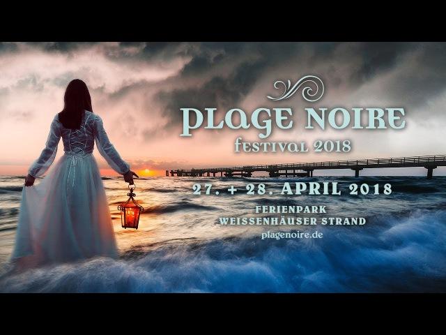 Plage Noire Festival 2018 Der Strand färbt sich schwarz