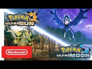 Pokémon Ultra Sun & Pokémon Ultra Moon - Strange Evil Trailer - Nintendo 3DS