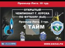 Открытый Чемпионат г.Курска 8x8. Авангард-М-Факел-Газпром. 1 тайм