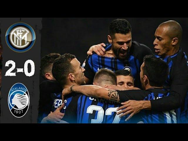 19.11.2017 Inter 2-0 Atalanta, Serie A, giornata 13