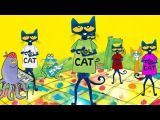 PETE THE CAT and the Cool Cat Boogie by Kimberly & James Dean | Dance-Along!