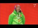 Women's 15km MEDAL ceremony VM Hochfilzen 2017