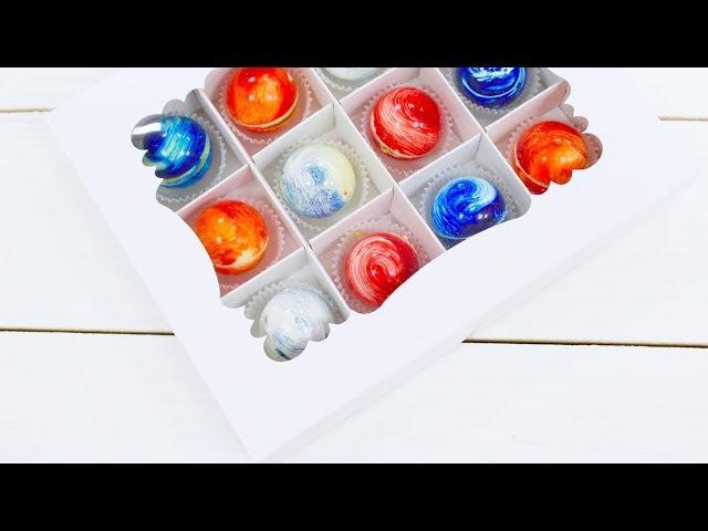 КОРПУСНЫЕ конфеты ГАЛАКТИКА МАРАКУЙЯ и КОКОСОВЫЙ ганаш