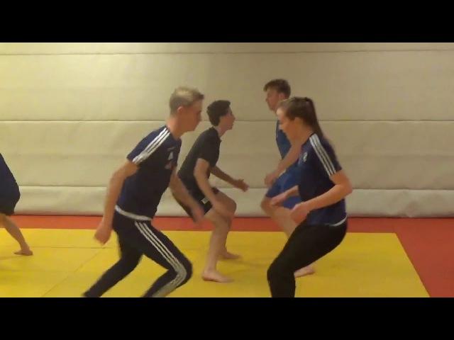 NTG keeperne på judo trening 2016