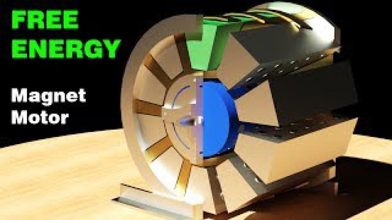 Free Energy Generator, Working Patent! Muammer Yildiz Magnet Motor, Detail design
