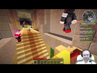 МИНИКОТИК МЕНЯ ОЧЕНЬ НАПУГАЛА !! BLOOD #13 Murder in Minecraft