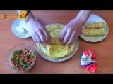 Как приготовить рулет из омлета с овощами и сыром. Рецепт роллов из яиц