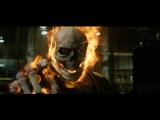 Призрачный гонщик - Первое превращение и встреча с Блэкхартом [ Ghost Rider фильм 2007 Николас Кейдж ]