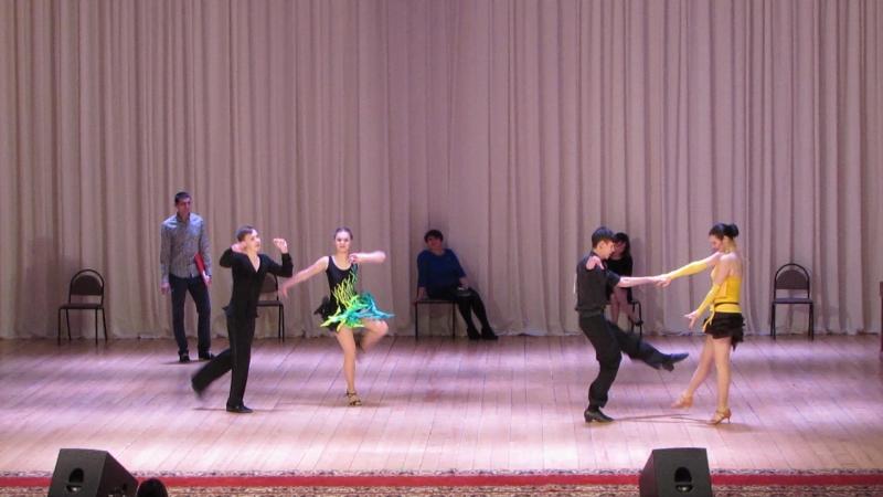 Джайв Молодежь Взрослые Конкурс по бальным танцам 19 02 2017 г