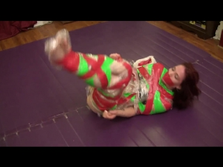 Holiday Theme Duct Tape Escape Challenge. VeVe Lane