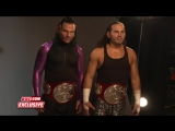 WWE EXCLUSIVE The Hardy Boyz Get Photographed As The RAW Tag Team Champions - April 3, 2017
