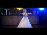Невеста поет песню для жениха на свадьбе - Знаю и верю