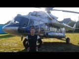 Обращение Павла Загоненко на фоне вертолета губернатора Валерия Шанцева