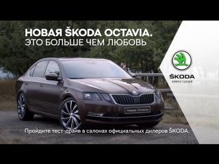 Новая ŠKODA OCTAVIA – это больше, чем любовь