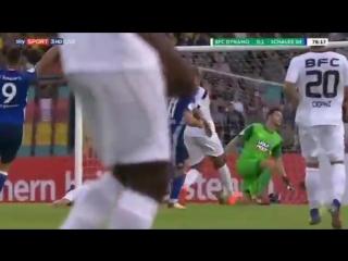 Евгений Коноплянка сделал дубль за Шальке в первом официальном матче сезона! Видео первого гола.