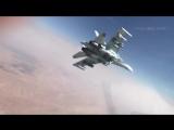 Су-35 наносит удар по наземным целям