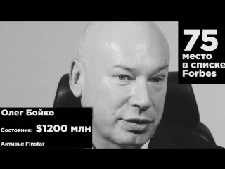 Олег Бойко поздравляет Forbes