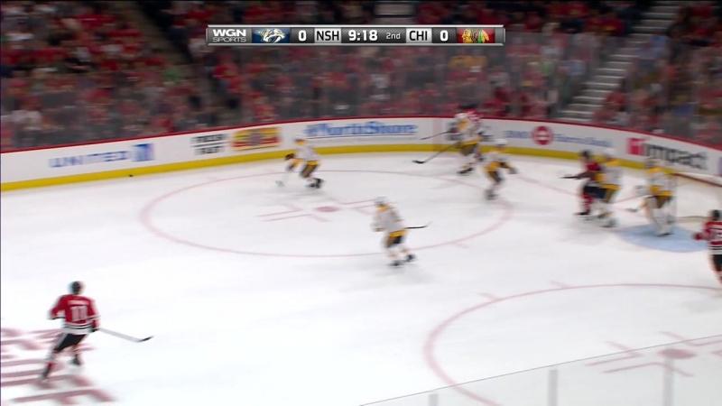 NHL 17/18, RS: Nashville Predators - Chicago Blackhawks [14.10.2017, WGN]