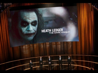 Heath Ledger Wins Supporting Actor: 2009 Oscars