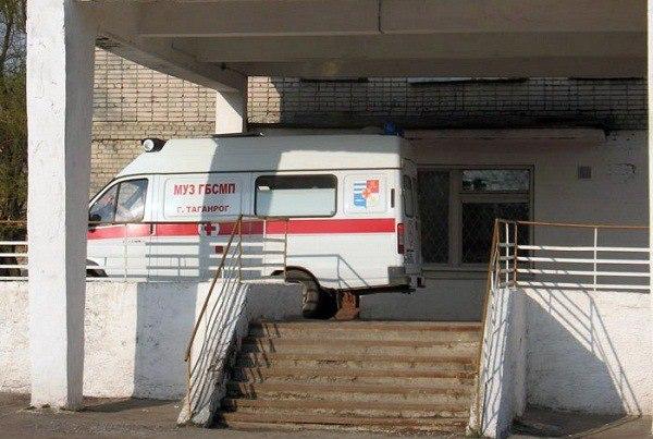 В Таганроге при столкновении Kia Spectra и Hyundai County пострадала пассажирка маршрутки