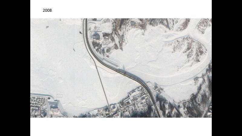 Строительство Миллениума и ликвидация понтонного моста