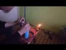 Gox butane combustion fun on a home kitchen