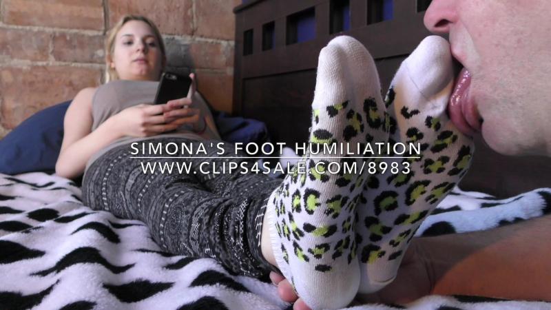 Simona's Foot Humiliation - www.clips4sale.com/8983/18466541