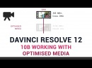 DaVinci Resolve 12 10b Working with Optimised Media