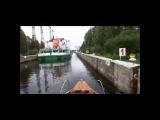Река Свирь Нижнесвирский шлюз Спуск