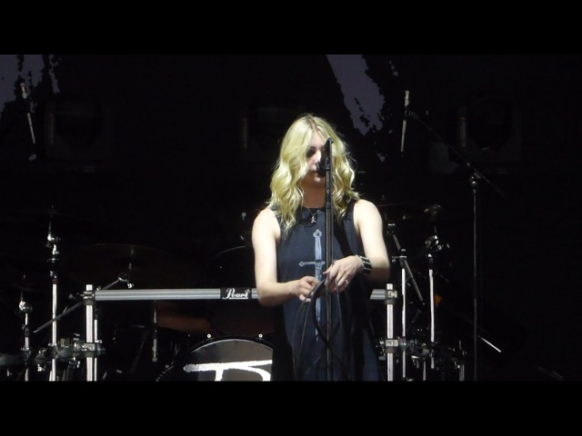 Like a Stone (Dedicated to Chris Cornell) The Pretty Reckless@Camden, NJ 5/20/17