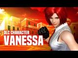 KOF XIV Vanessa DLC Character